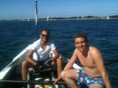 CC4@ Social Rowing – Christophe & Charles