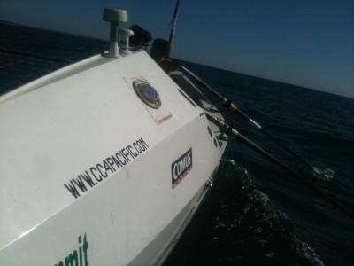 Rowing in La Trinite