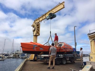 CC4 Pacific – Arrivée à Monterey