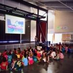 CC4 Pacific - Présentation dans une école américaine